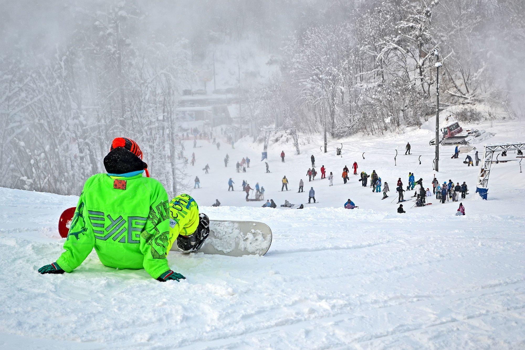 Кращі зимові активності Києва на свіжому повітрі