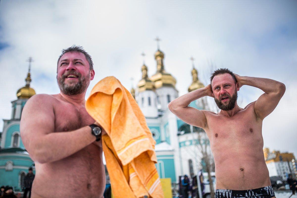 Где в Киеве закаляться и моржевать