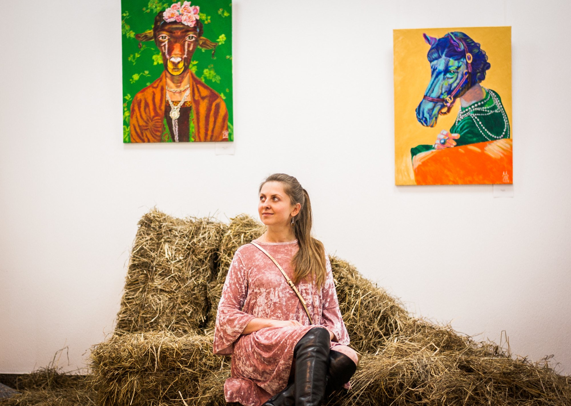 Перевтілення, асоціації та трохи містики – як Kyivmaps познайомилися з талановитою українською художницею