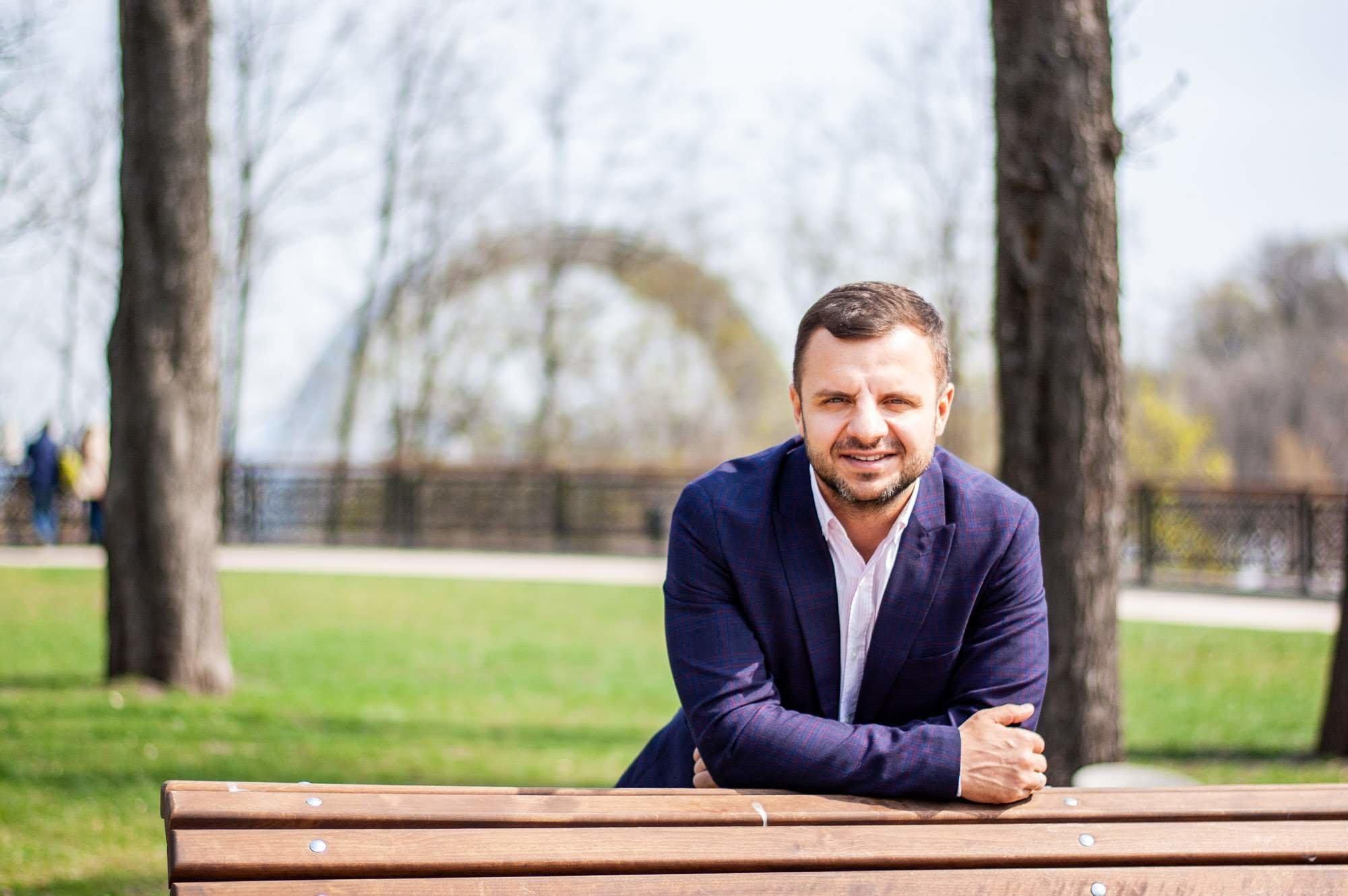 Антон Тараненко: Киев — это Must Visit Place