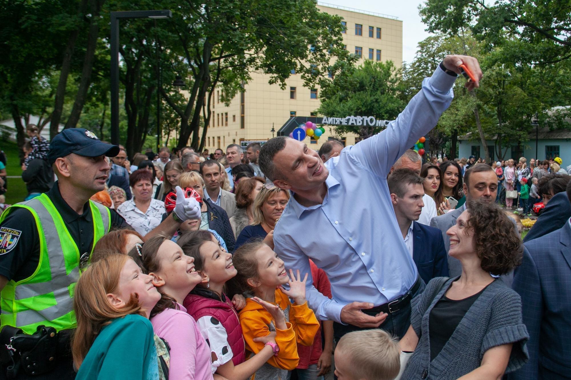 В столице обновили еще парк  отдыха «Куреневский»