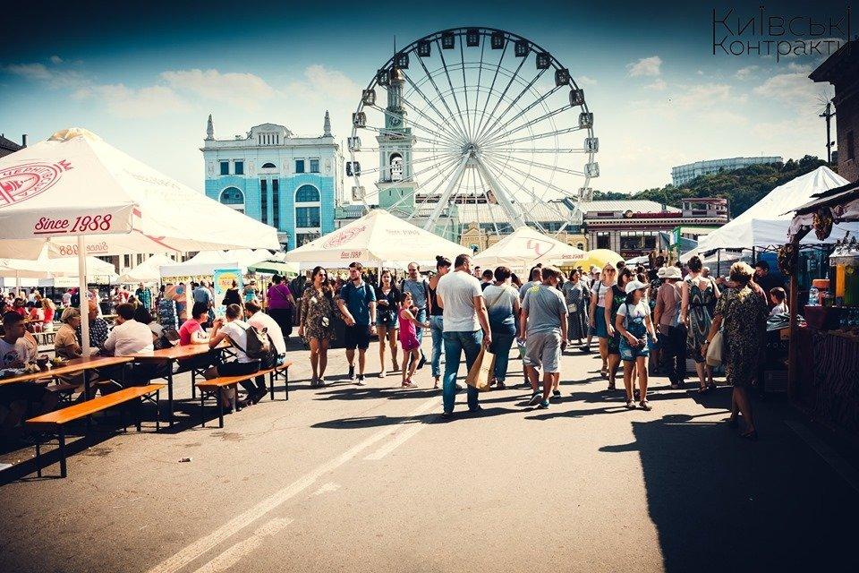 У столиці влаштують масштабний фестиваль-ярмарок «Київські Контракти»