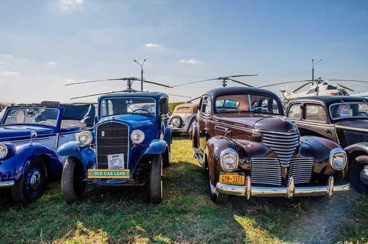 У країні вінтажних машин: у Києві пройде фестиваль ретро-авто Old Car Land