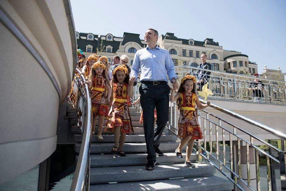 Виталий Кличко стал победителем рейтинга мэров Киева