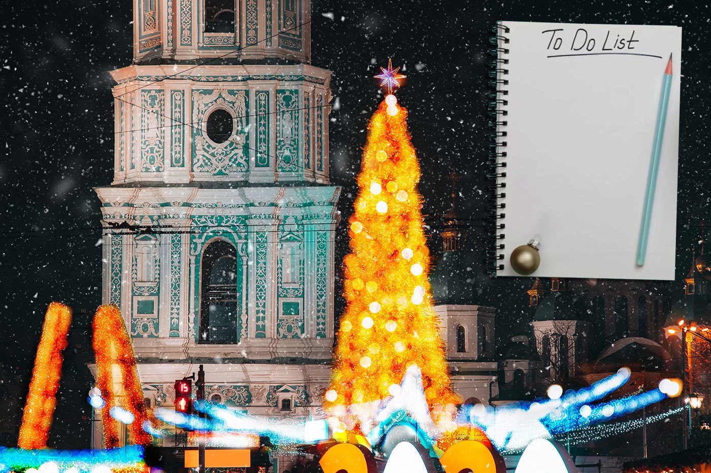 Новорічний чекліст: устигнути в Києві на свята
