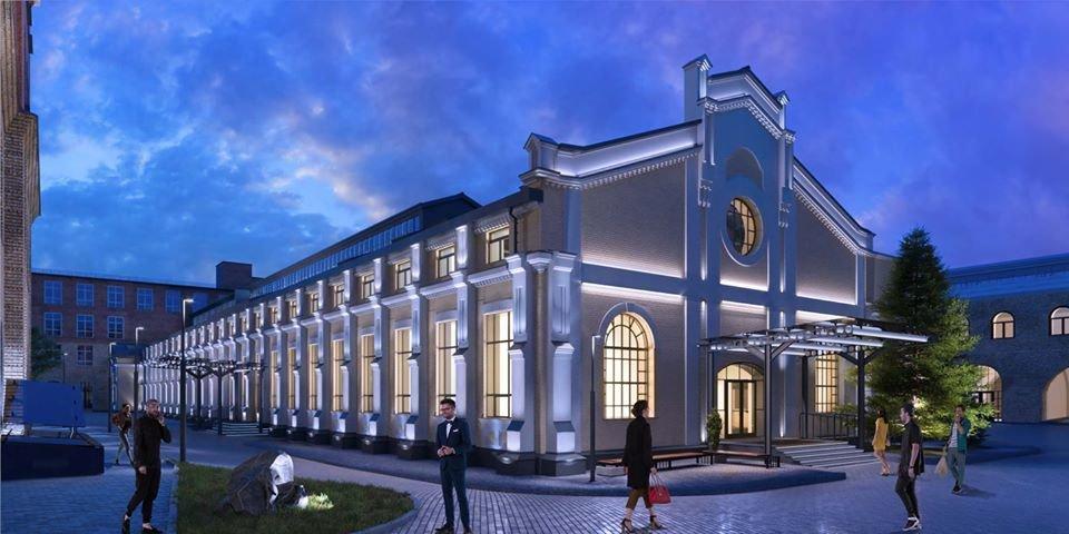 Сквер та коворкінг: територію київського заводу «Арсенал» продовжують облаштовувати