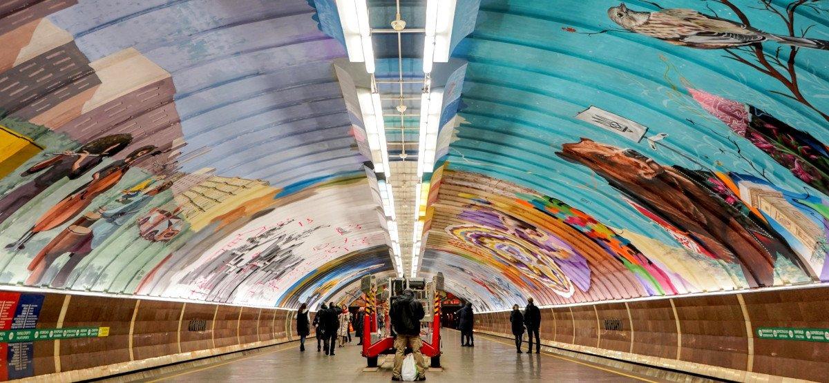 Київське метро: ТОП станцій, до яких варто придивитися ближче