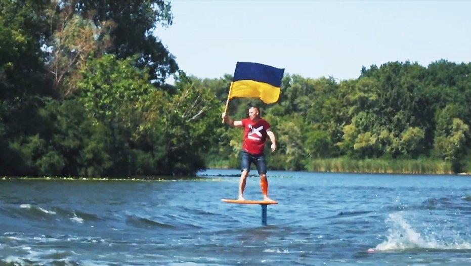 Рекорд ко Дню Независимости Украины: украинские фойл-серферы продолжили дело Марка Цукерберга