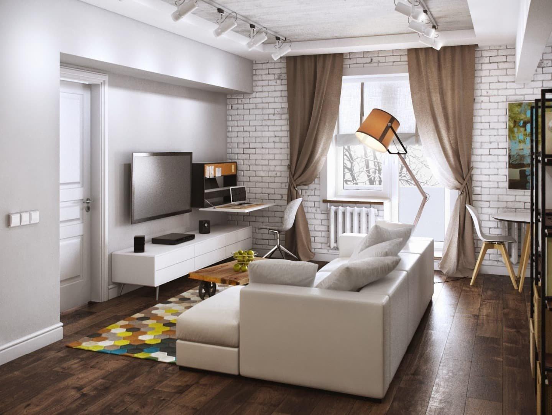 Перепланировка в 2-х комнатной квартире: полезные советы