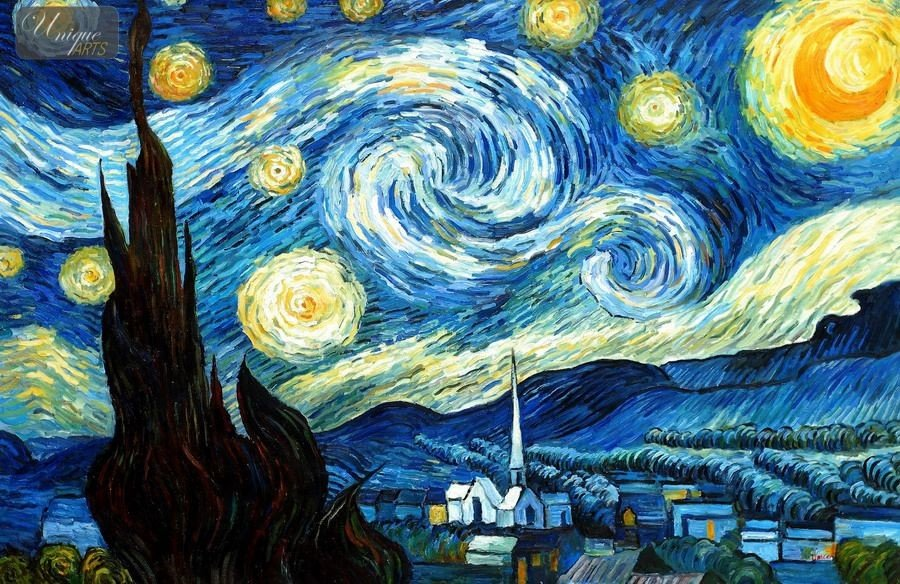 Moma Vincent Van Gogh The Starry Night 1889 - 900×584